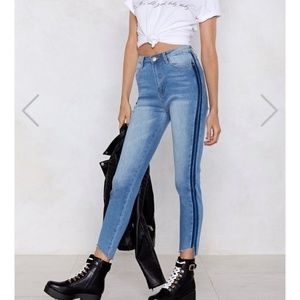 Nasty Gal Second Look High-Waist Jeans sz 4
